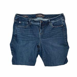 Torrid Blue Denim Jeans Skinny Womens 14 Plus